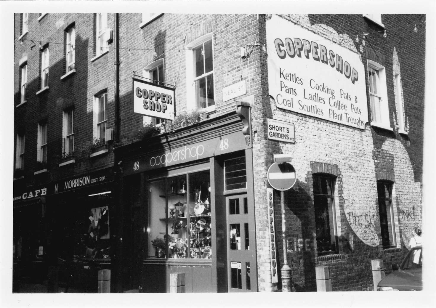 Black and white photos 80s london